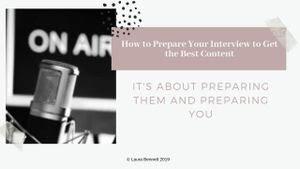 Art of Interviewing - Laura Bennett